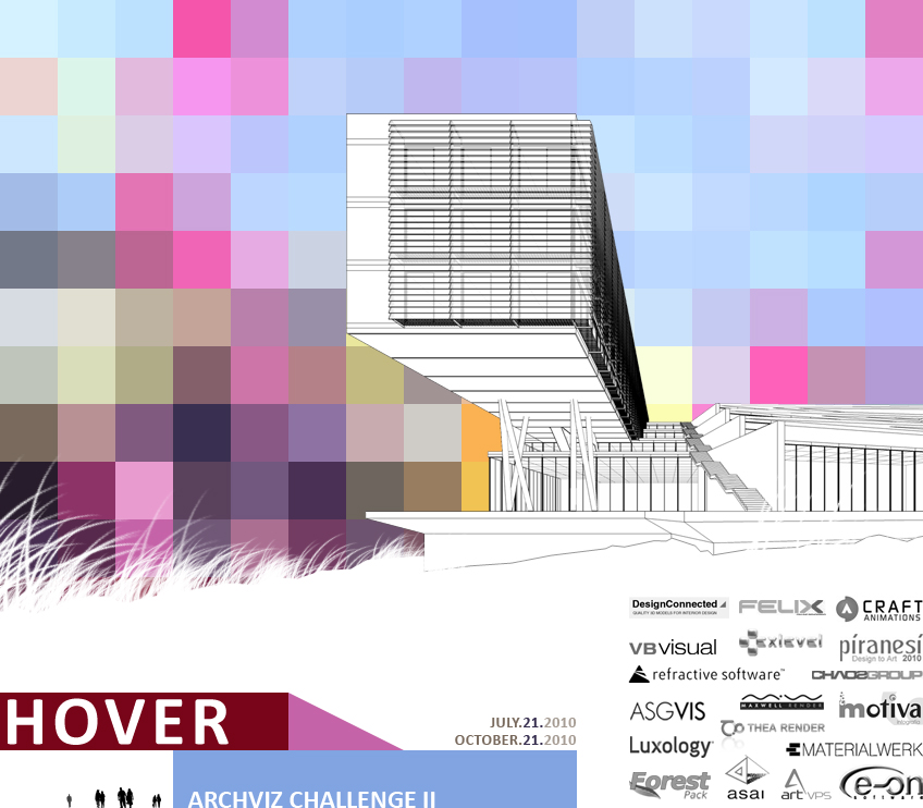 feature post image for Architectural Visualization Challenge II, HOVER