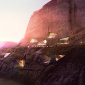 Wadi Rum Lodges Preview 170x170 Wadi Rum Desert Lodges Visuals by LUXIGON