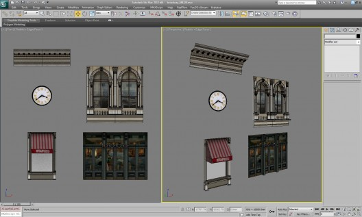 modeling buildings house 004 528x317 Making of NYC TAXI