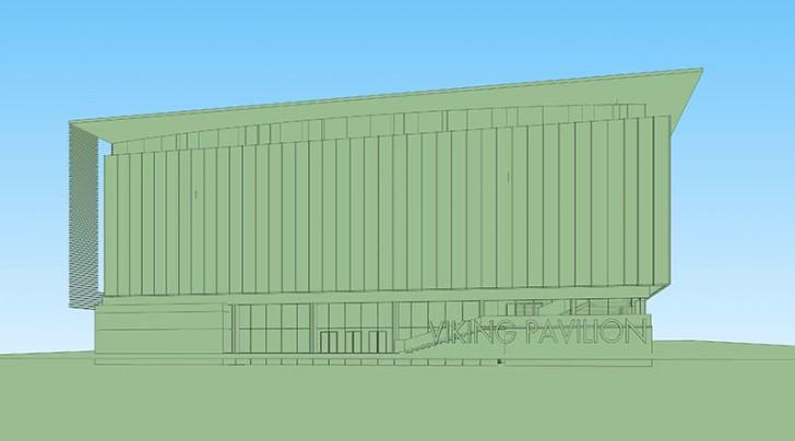 npr approach vp img209 728x404 Making of Viking Pavilion NPR Dusk Exterior