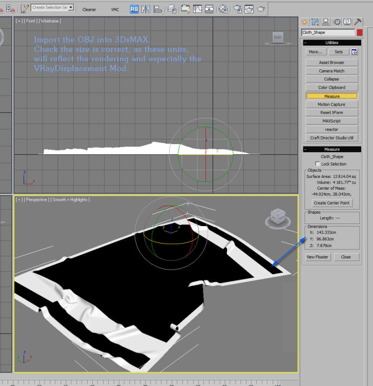 how to bath towel max 001 728x753 3D Modeling How to / Bath Towel with Marvelous Designer