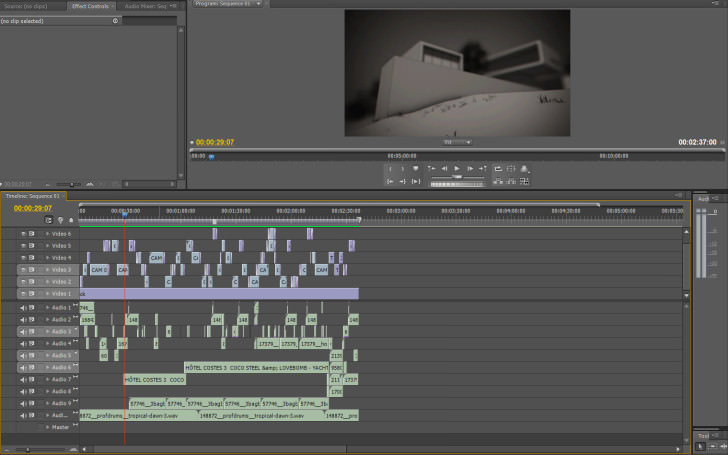 phoenix and vieques premierepro 728x455 Making of Phoenix & Vieques House Animation