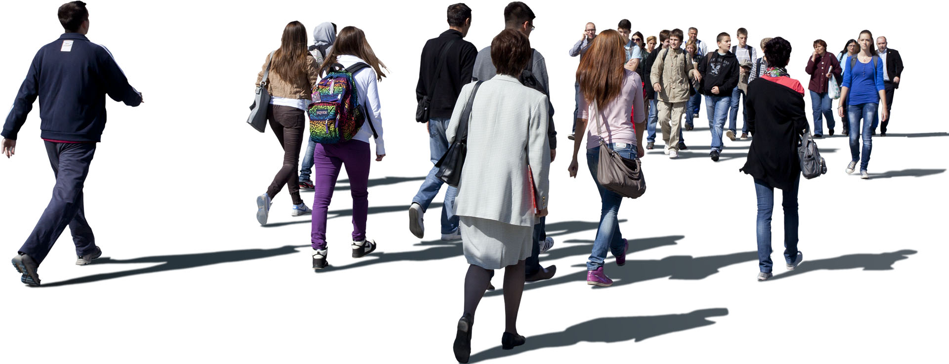 200 free 2d cut out people by case3d for architectural visualization